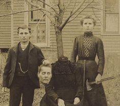 Creepy Old Photos, Vintage Halloween Photos, Victorian Halloween, Creepy Images, Haunting Photos, Strange Photos, Halloween Pictures, Victorian Era, Vintage Bizarre