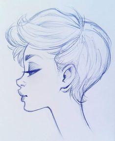 Profile drawing inspiration