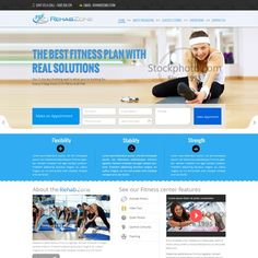 TheRehabZone.com website creation! Ecommerce site promoting innovative home exercise DVD program.