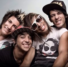 "Pierce the Veil: Hard-rocking young Latino band from California. Love their flamenco-grooved song ""Bulls in the Bronx."""