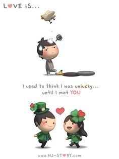 Check out the comic HJ-Story :: Love is... Lucky Me