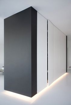 │Copenhagen Penthouse II│black and whit a simple interior -Norm Architects