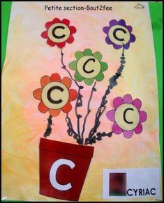 Risultati immagini per initiale ps Arts And Crafts, Recherche Google, Cycle 1, Bouquet, Blog, Artists, Education, Alphabet, Flowers