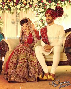 Finally found a clear picture of her outfit #pakistaniweddings #ferozekhan #bridal #hsy #pakistan