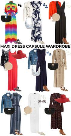 Best Maxi Dresses, Casual Summer Dresses, Summer Outfits, Casual Outfits, Work Outfits, Maxi Skirt Style, Maxi Skirt Outfits, Capsule Wardrobe, Dresses Online