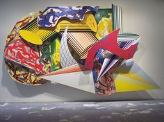 Save   Giufà, la luna, i ladri e le guardie  Frank Stella (American, born 1936)  1984. Synthetic polymer paint, oil, urethane enamel, fluorescent alkyd, and printing ink on canvas, and etched magnesium, aluminum, and fiberglass,