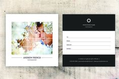 Photographer Gift Certificate-V05 by Template Shop on @creativemarket