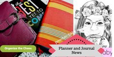 Planner and Journal News  Week 44 of 2016