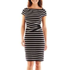 American Living Striped Sheath Dress   found at @JCPenney