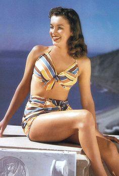 1946: Zuma Beach. Norma Jeane by Joseph Jasgur