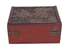 NEW Wooden Jewelry Box Storage vintage small Treasure Chest Wood Crate Case Gift | eBay