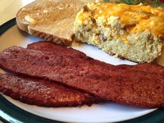 Cooking this in the morning Smoked Venison Bacon Elk Recipes, Venison Recipes, Sausage Recipes, Fish Recipes, Game Recipes, Venison Meals, Cooking Venison, Simply Recipes, Venison Tenderloin
