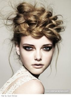 Find your on camera editorial hair styling & Make Up looks. #fashion & #style at Monica Hahn Photography.