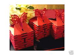Double Happiness DIY wedding gift favor box. #ChineseCulture #DBBridalStyle