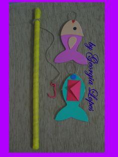Use a pescaria como método avaliativo de aprendizagem! Atrás de cada peixinho há um envelope, onde vc pode colocar perguntas sobre o estudo ...