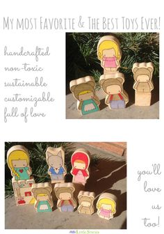 Play on, Playas! These little dreams are the best toy ever - simple & full of play inspiration. // Little Stories