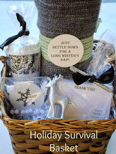 Jac o' lyn Murphy: Holiday Survival Kit - seems like a great care package idea for college students taking exams