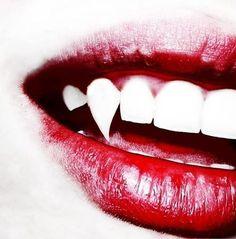 Image about red in Vampire; Vampire Love, Vampire Girls, Vampire Art, Dark Fantasy, Foto Fantasy, Vampire Diaries, Vampire Fangs, Vampires And Werewolves, Carmilla