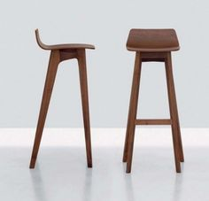 The Morph Modern Contemporary Wooden Bar Stool Designs from Formstelle - Iroonie.Com