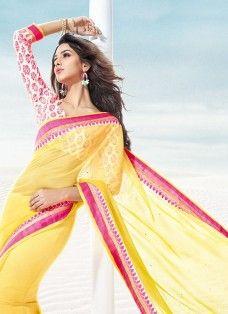 Sonakshi Yellow Rajkumar Faux