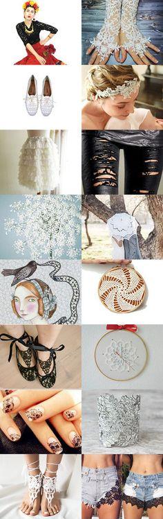 Lace love by Stanka Vukelić on Etsy--Pinned with TreasuryPin.com