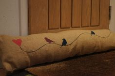 Image of Handmade Hessian Draught Excluders