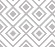 Connect the Blocks Chinchilla fabric by honey&fitz on Spoonflower - custom fabric