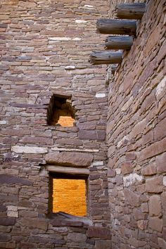 Chaco Canyon indian ruins photograph by Nat Coalson. See more at http://www.natcoalson.com