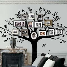 Family Tree Crafts - Family DIY Projects - Good Housekeeping
