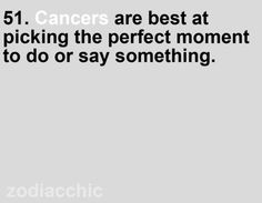 cancer zodiac. I don't know about this one with me lol
