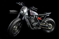 1984 HONDA CB100 'THE LEGEND' - SMOKED GARAGE - RETURN OF THE CAFE RACERS