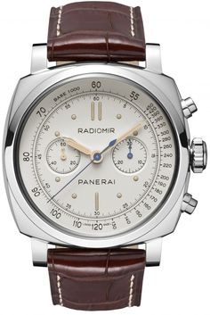 Officine Panerai - Radiomir 1940 Chronograph Platino.