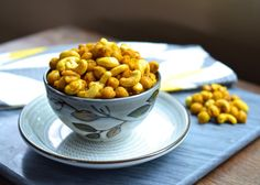 Roasted Curry Chickpeas…a healthy, easy, delicious snack! Article includes information on how turmeric can help with inflammation, anxiety, and depression.  Recipe Here.