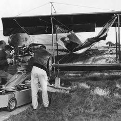 The Spirit of St. Louis (1957). Billy Wilder Cinematography: Robert Burks & J. Peverell Marley Photo by: Mac Julian #Oscars #Platinum #SableFilms