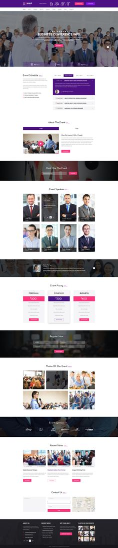 Devent - Events & Conference PSD Template • Download ➝ https://themeforest.net/item/devent-events-conference-psd-template/16695062?ref=pxcr