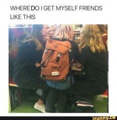 20 Memes In Real Life The Internet. Every meme is special, this real life in internet memes will put smile on your face. Bff Goals, Best Friend Goals, My Best Friend, Lucy Wilde, Funny Relatable Memes, Funny Posts, Hilarious Memes, Funny Humor, Jokes