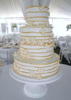 Shabby Chic White Pedestal Antiqued Cake Stand