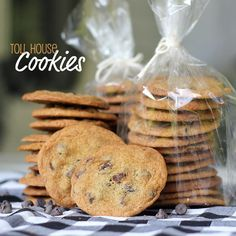 With a Grateful Prayer and a Thankful Heart: Toll House Cookies
