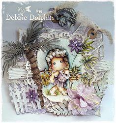 Magnolia cards by Debbie: Banana Tilda