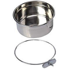Pet Dog Stainless Steel Coop Cups with Clamp Holder - Detached Dog Cat Cage Kennel Hanging Bowl,Metal Food Water Feeder for Small Animal Ferret Rabbit (Large) ** Read more at the image link. (This is an affiliate link) #dogs