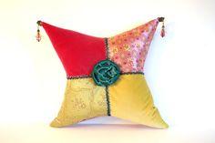 Bohemian pillow grad gift teen pillow pink by JoJosArtisticDesign, $59.00