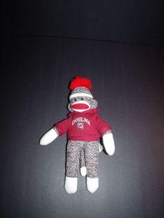 """Plushland South Carolina Gamecocks Sock Monkey Plush Stuffed Animal Toy 11"""" #Plushland #SouthCarolinaGamecocks"""