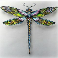 coloring ideas-dragonfly.