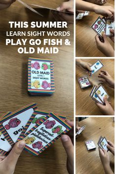 Educate Your Children At Home With These Essential Tips 5 – Education Dolch Sight Words, Sight Word Games, Teaching Resources, Classroom Resources, Teaching Ideas, 2nd Grade Classroom, Educational Activities, Educational Websites, Going Fishing
