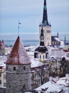 Tallinn in winter...love it!!! ;D