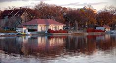 #Fall Colors at #Lake Calhoun - Minneapolis, MN. http://www.mnartists.org/work.do?rid=163721