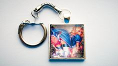 Naughty Alice In Wonderland Keychain by GeekyLime on Etsy, £7.00