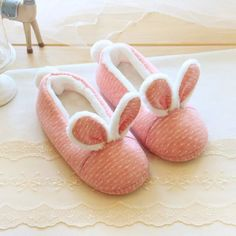Pink Kawaii Warming Homewear Shoes SP168418