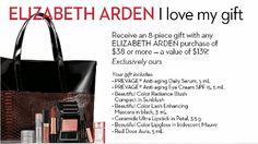 Elizabeth Arde Free 8-piece gift set with purchase of $38 Elizabeth Arde products @ Bay