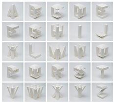 Un alphabet vu sur toutes ses faces.... www.losiento.net